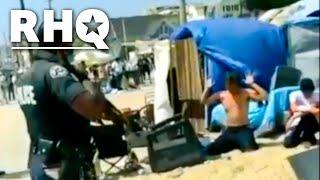 LAPD Raids Beach As Homeless Cruelty Escalates