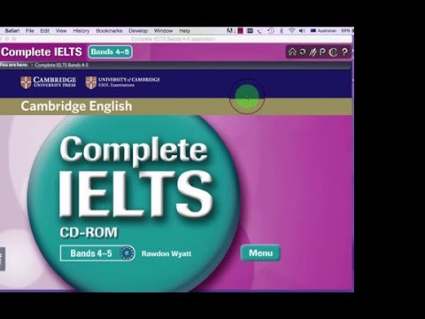 Introduction to 'Complete IELTS' CD-ROM