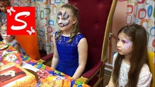 видео Детский праздник в стиле Гравити Фолз. Аниматор Диппер