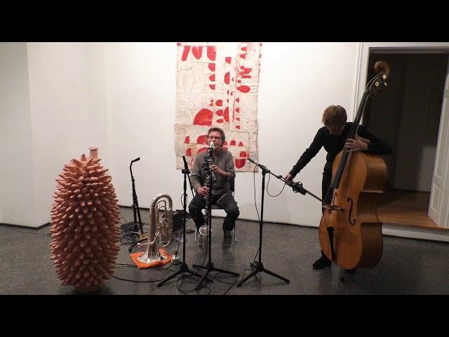 Udo Schindler/Jonas Gerigk Duo live in der Münchener Galerie Artoxin, Teil 1