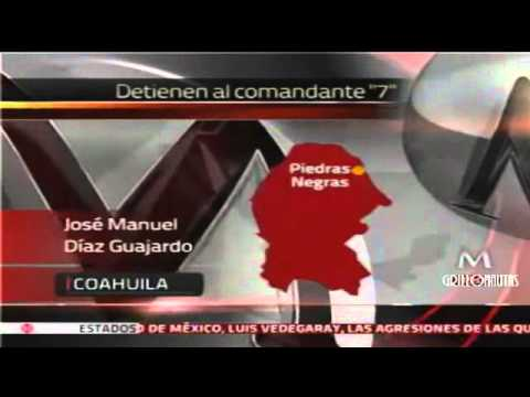 """Detienen al """"Comandante 7"""", jefe de los Zetas en Coahuila"""