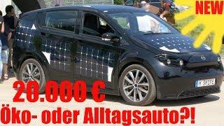 Sion im Test, -der bessere BMW I3? Fahrbericht + Details im Review   Sono Motors 😱