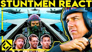 Stuntmen React To Bad & Great Hollywood Stunts 26