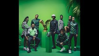 HOW VARIOUS NIGERIA CELEBRITIES STYLED THE SUPER EAGLES JERSEY