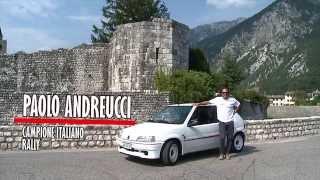 Peugeot 106 Rallye provata da Paolo Andreucci