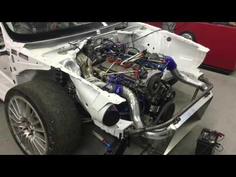 Audi Xtra Coupe ex engine