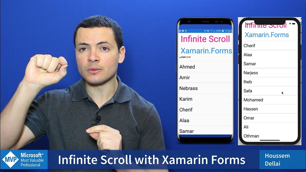 Infinite Scroll with Xamarin Forms