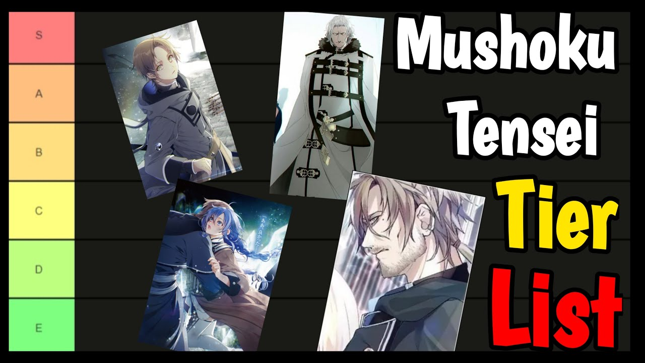 Rimuru's sword of tempest (event) Characters Tier List Of Mushoku Tensei Jobless Reincarnation 2021 Isekai Anime Youtube