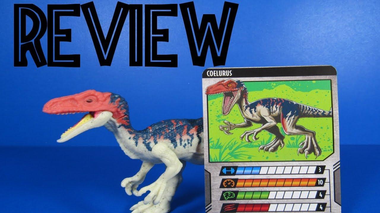 Jurassic World Dino Rivals Coelurus NEW