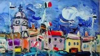 メヌエット(ベートーヴェン)  〜 現代フランス絵画の巨匠・ポール アイズピリ(Paul Aizpiri)