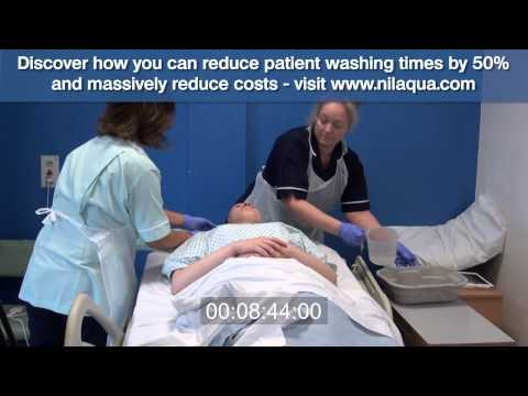 NHS Hair Washing Method - On A Real Person