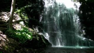 """Bushkill Waterfalls. The """"Niagara of Pennsylvania"""""""