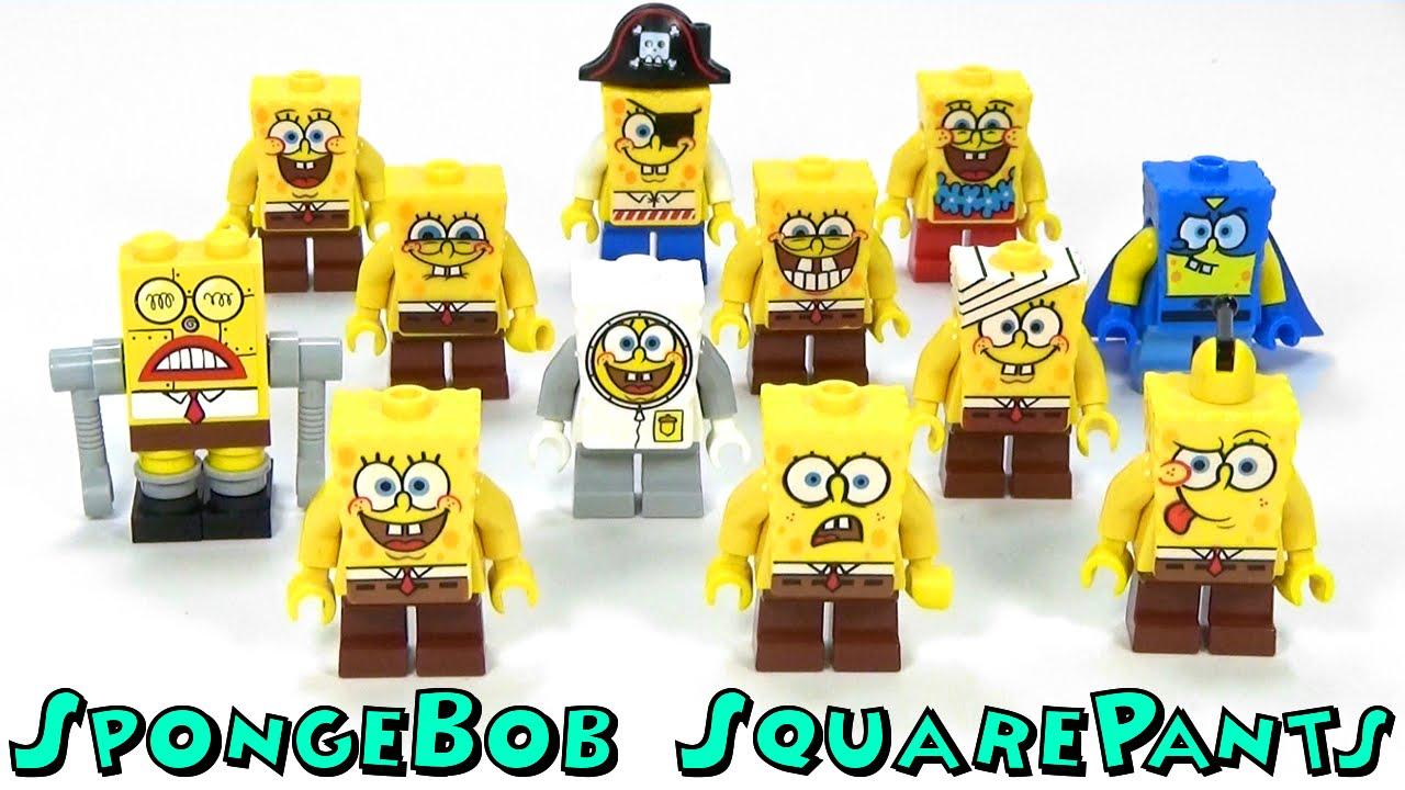 Ultimate Lego Spongebob Squarepants Minifigure Collection