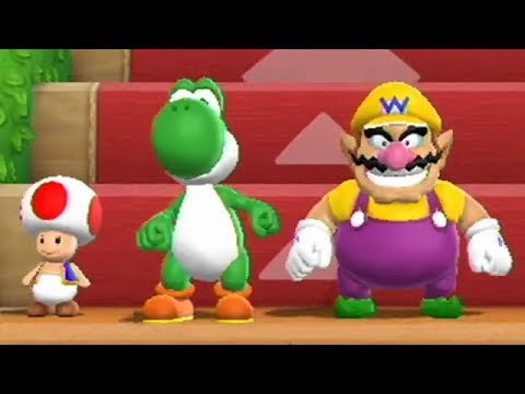 Mario Party 9 - Step It Up (2 Player) - Free-for-All Minigames