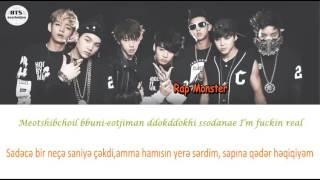 BTS (방탄소년단) - Born Singer (Azerbaijani sub/romanization/Color Coded)