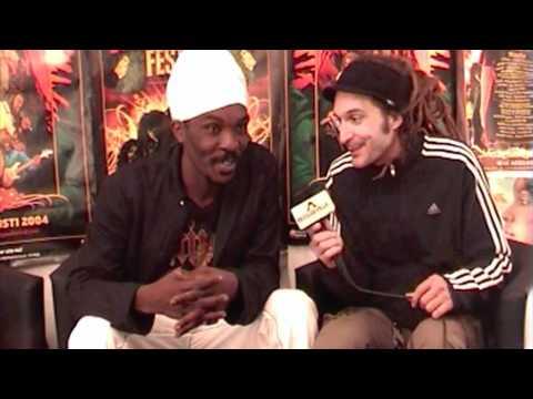 Interview: Anthony B @ Uppsala Reggae Festival 8/7/2010
