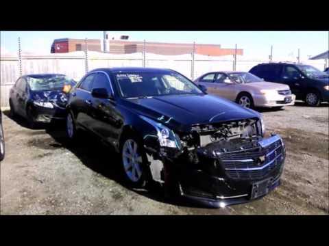 2015 Cadillac ATS Accident Repair Rebuild