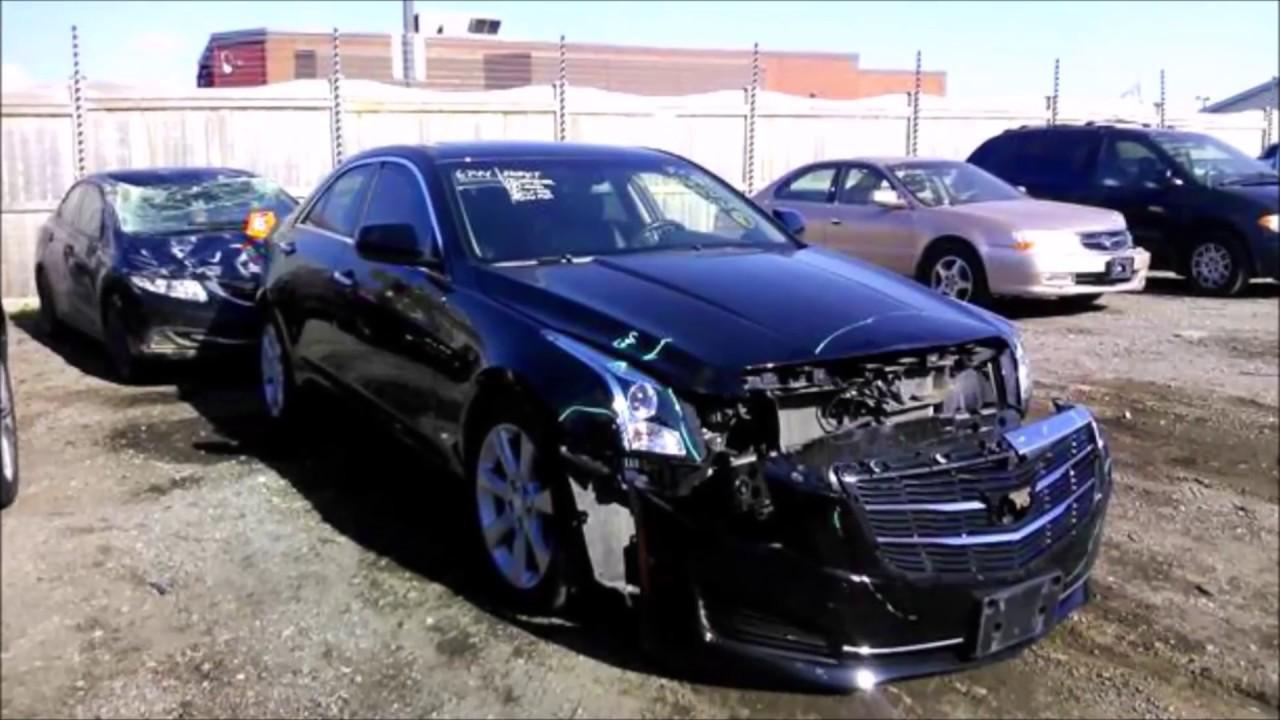 2015 Cadillac ATS Accident Repair Rebuild - YouTube