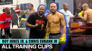 ROY JONES JR TRAINING CHRIS EUBANK JR - ALL TRAINING CLIPS COMPILATION