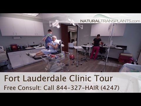 Hair Restoration Clinic Tour - Natural Transplants Fort Lauderdale / Miami
