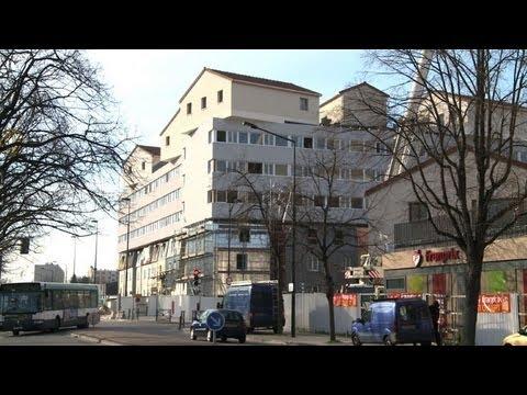 des maisons sur les toits les hlm innovent pr s de paris youtube