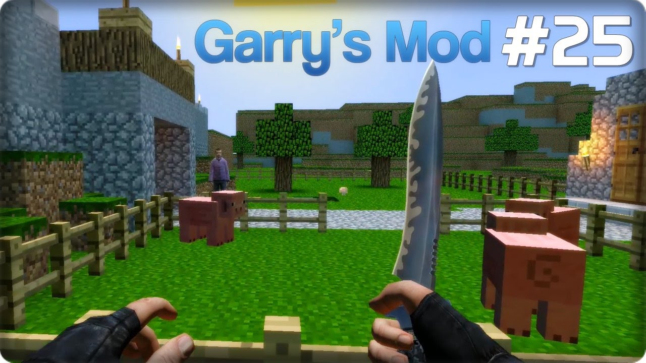 Garry's Mod Po Polsku [#25] Minecraft!? - YouTube