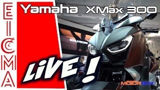 Yamaha XMax 300 | Live da Eicma 2016