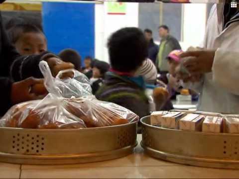 Tibetan school food program launched