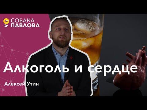 Алкоголь и сердце - Алексей Утин // безопасная доза алкоголя, риски развития рака, сосуды и алкоголь
