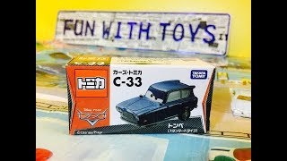 unbox Tomica Disney Pixar Car Tomber C-33 03084+it