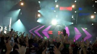 (db) Take Over Control & Unreleased The Bottle Song - Afrojack Live @ Ultra Music Festival 2011 (HD)