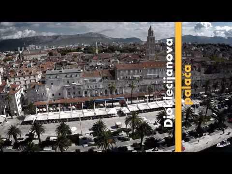 video razglednica Splita