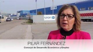 Visita al polígono industrial  el Nilo de Alcalá de Henares