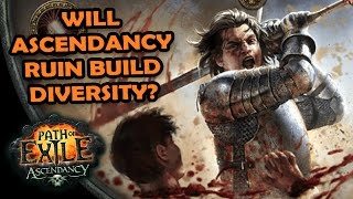 Path of Exile: Will ASCENDANCY Classes Kill Build Diversity?