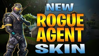 NEW ROGUE AGENT SKIN GAMEPLAY - Fortnite Battle Royale Gameplay #SoaRRC