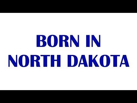 Born In North Dakota (celebrities, athletes, musicians....) - 10 Famous People