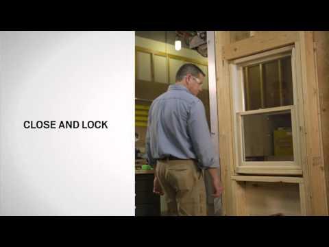 Sash Lift Installation on Andersen® 400 Series Tilt-Wash Windows
