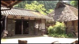 愛知県「三州足助屋敷」で公開されている日本の昔ながらの手仕事を簡単...