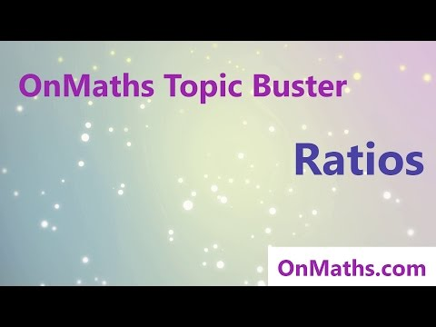 Ratios- Revise Grade 4/5 - GCSE Maths Topic Revision (OnMaths.com)
