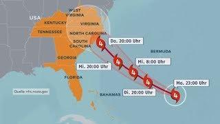 """HURRIKAN FLORENCE: """"Dieser Sturm ist ein Monster - groß und unberechenbar"""""""