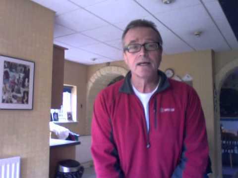 Tony Barton - first video diary