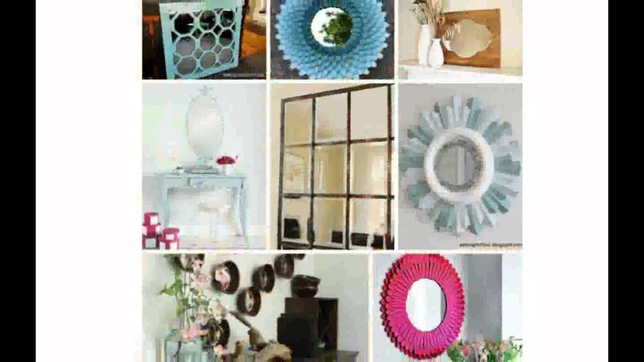 Decorate Mirror Frame - YouTube