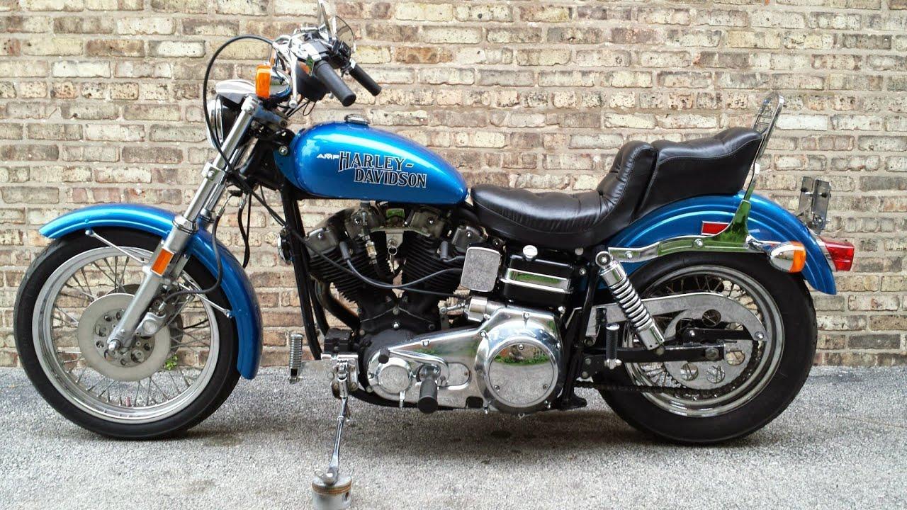 1980 Harley Davidson FXE1200 Superglide Shovelhead  YouTube