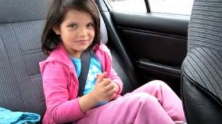 5 year old singing BABY by JUSTIN BIEBER beaver