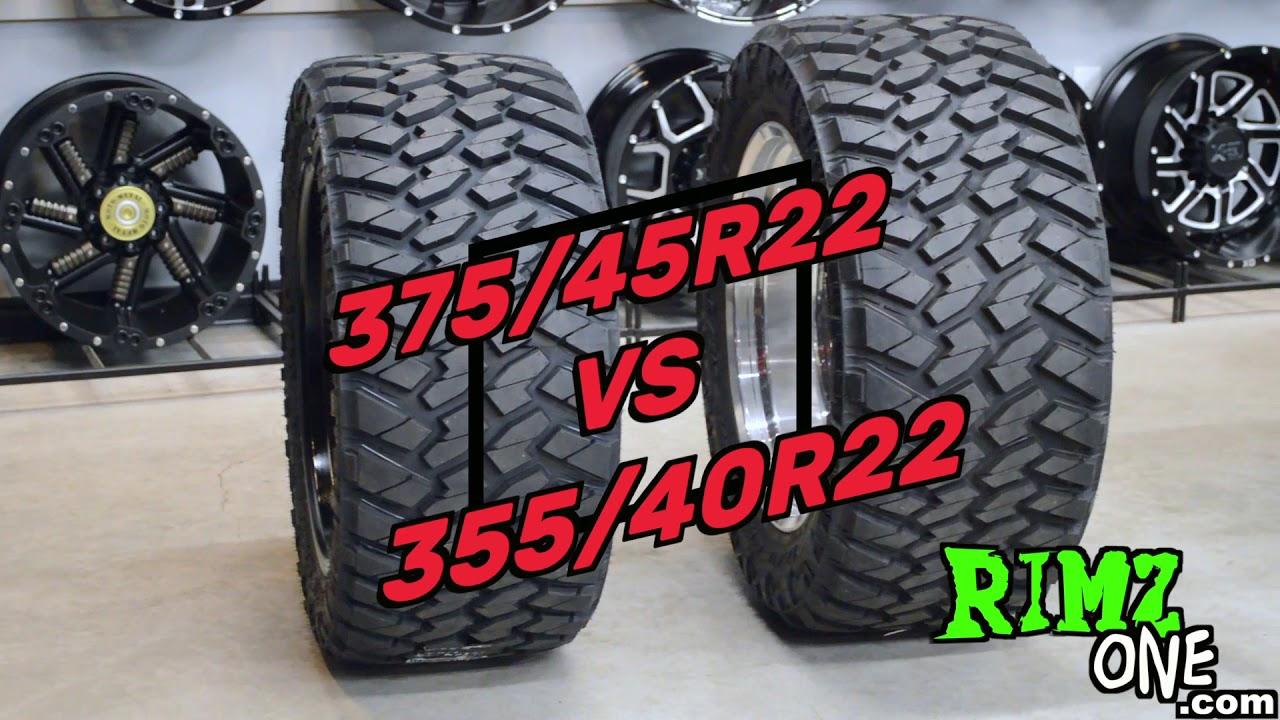 Nitto Trail Grappler 375 45r22 Vs 355 40r22 Youtube