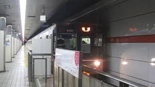 名古屋市営地下鉄桜通線 6000形6151F 徳重 行 名古屋駅発車 2020.01.02