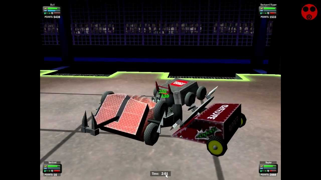 addicting games robot arena 2