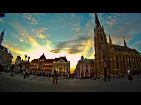 Novi Sad in motion - Timelapse