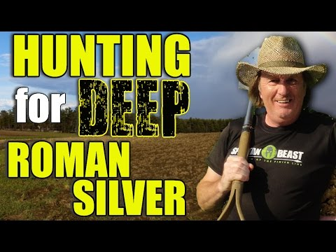 Hunting for Deep Roman Silver Denarius (Ep248)