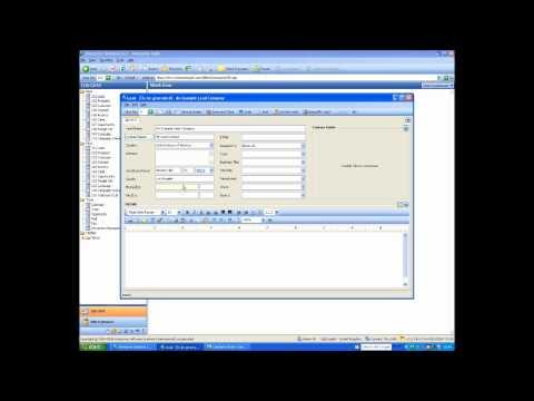 CRM Software - Demo Part 1/4
